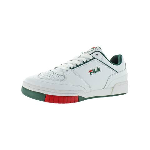 Fila Mens Targa Tennis Shoes Leather Sport