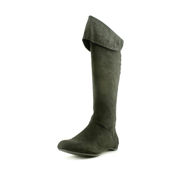 Kenneth Cole Reaction Womens Pro-Long Almond Toe Knee High Fashion Boots