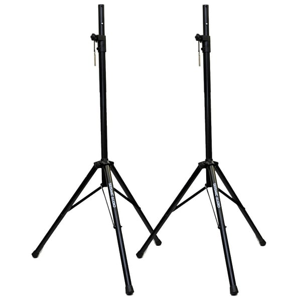 SEISMIC AUDIO - Pair of PA/DJ Tripod Speaker Stand