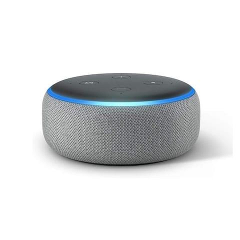 "Amazon Echo Dot 3rd Generation Smart Speaker with Alexa - Heather Gray - Grey - 1.6"""