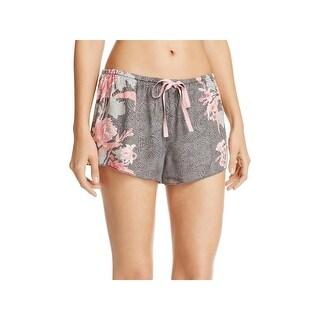 PJ Salvage Womens Pajama Shorts Floral Lounge - S