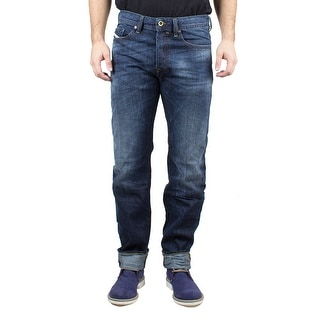 Diesel Buster Men's Regular Slim-Tapered Denim Jeans 0831Q
