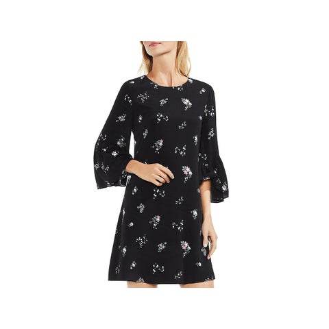 Vince Camuto Womens Cocktail Dress Floral Print Mini