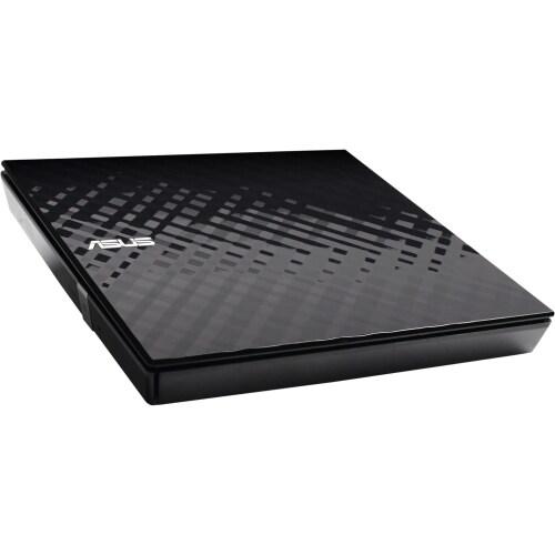 """Asus SDRW-08D2S-U/BLK/G/AS Asus SDRW-08D2S-U External DVD-Writer - Retail Pack - DVD-RAM/±R/±RW Support - 24x CD"