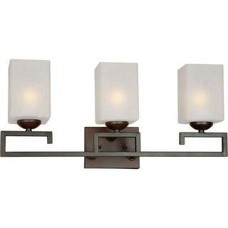 Forte Lighting 5141-03 3 Light Bathroom Vanity