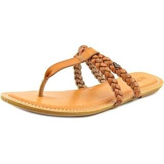 Roxy Giza Open Toe Synthetic Thong Sandal