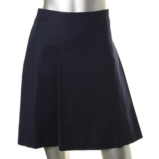Lauren Ralph Lauren Womens A-Line Skirt Pleated A-Line