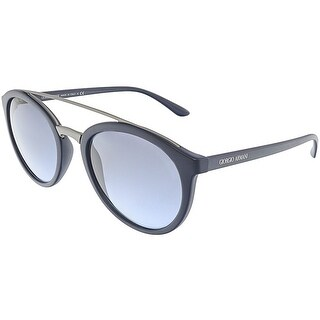 Giorgio Armani Women's AR8083-50598F-52 Blue Oval Sunglasses