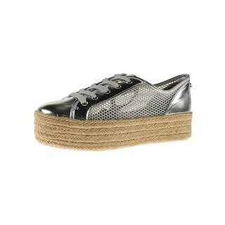 Steve Madden Womens Mars Fashion Sneakers Espadrille Platform
