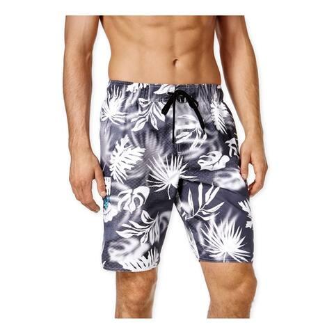 Newport Blue Mens Tropical Volley Swim Bottom Board Shorts
