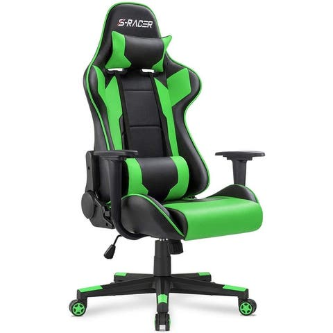 Gaming Chair Office Chair Computer Leather Ergonomic Swivel Chair