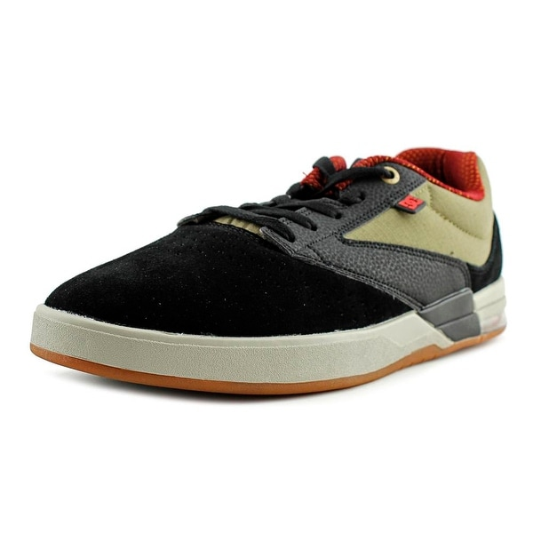 DC Shoes Wolf S Round Toe Suede Skate Shoe