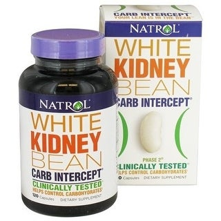 Natrol Carb Intercept with Phase 2 (120 Capsules)