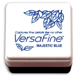 Versafine Pigment Small Ink Pad-Majestic Blue