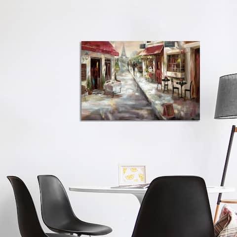 "iCanvas ""Parisian Cafe"" by Nan Canvas Print"