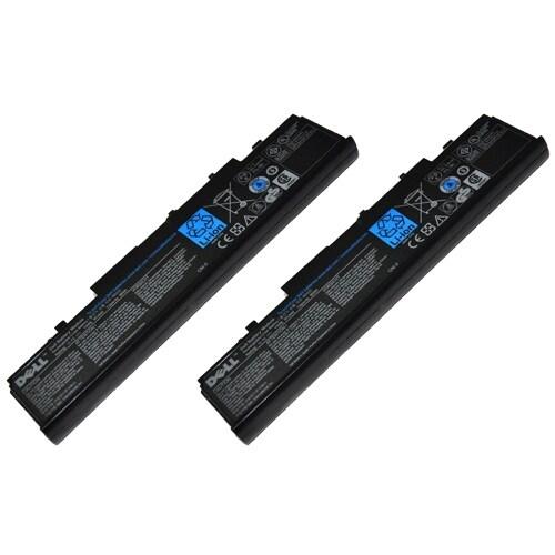 Original Dell 312-0701 Battery for Studio 15 / Studio 1537 / Studio 1536 Models (2 Pk)