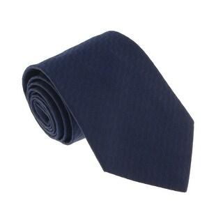 Missoni U5643 Navy Herringbone 100% Silk Tie - 60-3
