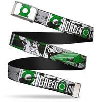 Green Lantern Logo Close Up Fcg White Green Chrome Green Lantern Comic Web Belt