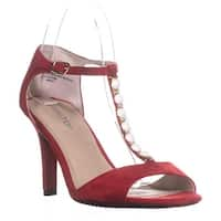 Rialto Rida Jewel Strap Pumps, Red