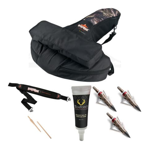 Wicked Ridge by Tenpoint Soft Crossbow Case with Strap and Lube Bundle
