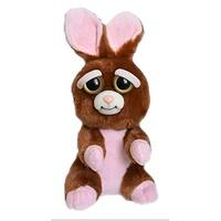 "Feisty Pets Vicky Vicious 8.5"" Plush Rabbit - multi"