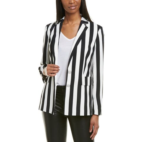 Karl Lagerfeld Striped Blazer