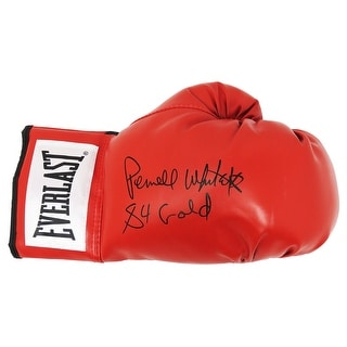 Pernell Whitaker Everlast Red Boxing Glove W84 Olympic Gold