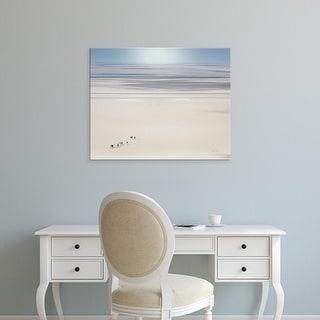 Easy Art Prints Keri Bevan's 'Caravan in France' Premium Canvas Art