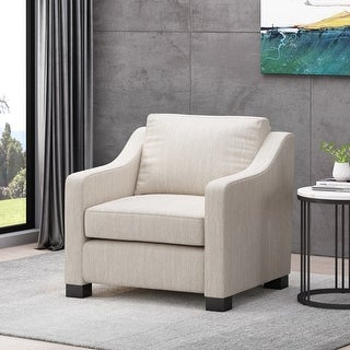 Link to Halevy Contemporary Fabric Club Chair by Christopher Knight Home Similar Items in Living Room Chairs