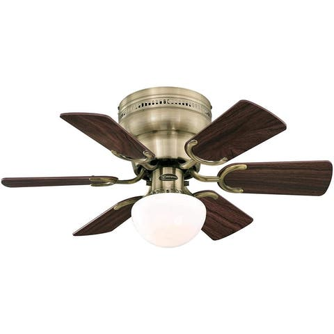 Westinghouse - Petite 30-In Indoor Ceiling Fan w/ Dimmable LED