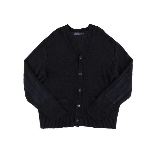 Polo Ralph Lauren Mens Cardigan Sweater Knit Button-Down