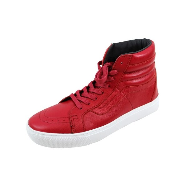 Vans Men's Sk8 Hi Cup Red Leather VN0A2Z5X1ED