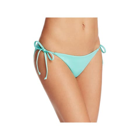 Becca by Rebecca Virtue Womens Side Tie Hipster Swim Bottom Separates