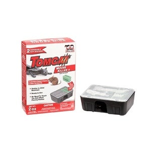 Tomcat 0371510 Disposable Mouse Bait Station, 2/Pack