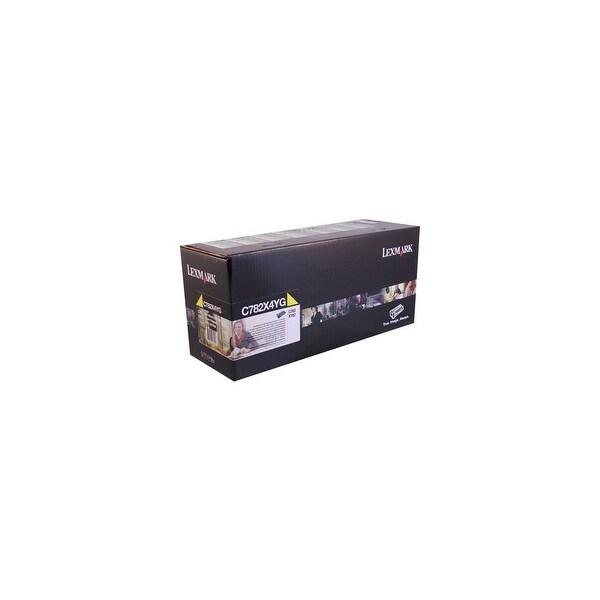 Lexmark Toner Cartridge - Yellow C782X4YG Toner Cartridge