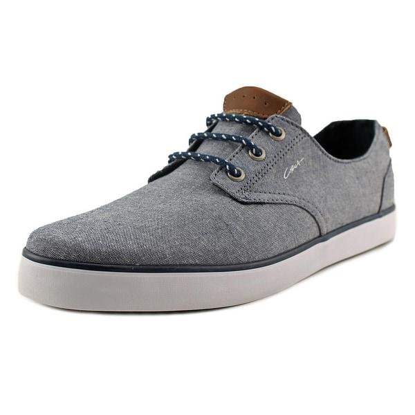 C1rca Harvey Men Round Toe Canvas Blue Sneakers