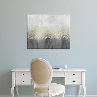 Easy Art Prints Jennifer Goldberger's 'Glitter Swirl II' Premium Canvas Art