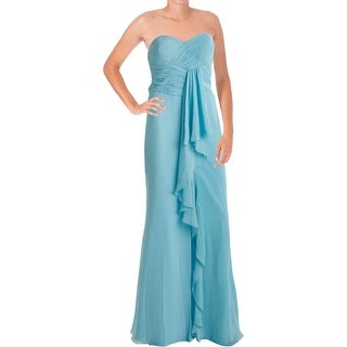 Faviana Womens Chiffon Prom Evening Dress