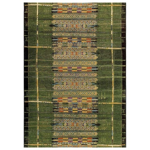 Liora Manne Marina Tribal Stripe Indoor/Outdoor Rug