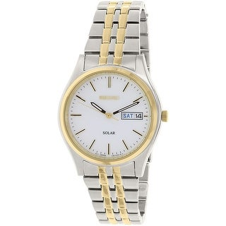 Seiko Men's Gold Stainless-Steel Automatic Fashion Watch