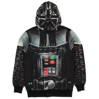 Star Wars Men's Vader Is Here Sublimated Costume Hoodie