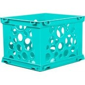 "Teal - Mini Crate 9""X7.75""X6"""