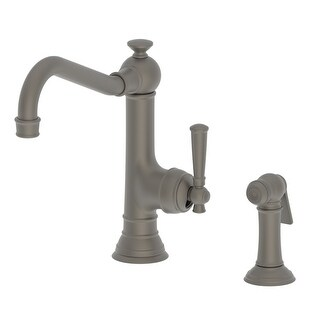 Newport Brass 2470-5313 Jacobean Single Handle Kitchen Faucet with Side Spray