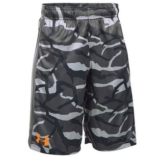 Under Armour Under Armour Boys Printed Eliminator Short, YSM/P/CH - gray
