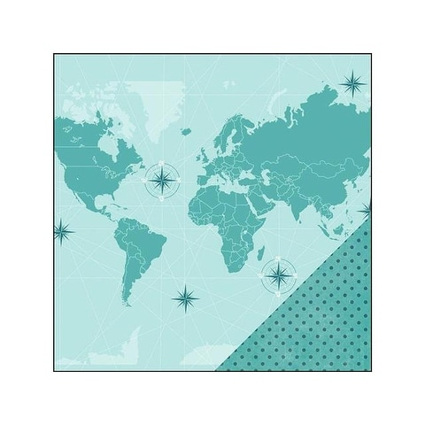 Imaginisce Perfect Vacation Paper 12x12 WorldTrvlr