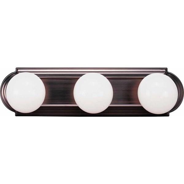 "Volume Lighting V1123 18"" Width 3-Light Bathroom Vanity Strip - n/a"