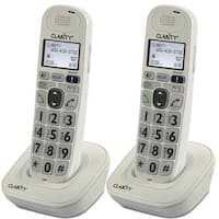 Clarity D702HS DECT 6.0 Amplified Caller ID Extra Handset Charger New 2 pack