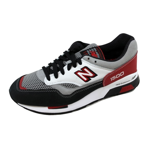new product 3d9d4 1400f New Balance Men  x27 s 1500 Grey Red Elite Riders Club CM1500AN