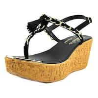 Callisto Womens Tella Split Toe Formal T-Strap Sandals - 5.5