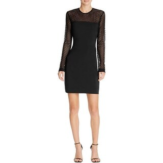 Nicole Miller Womens Clubwear Dress Long Sleeves Crepe|https://ak1.ostkcdn.com/images/products/is/images/direct/b669cdf15a6a173631a215e7209d81a5823012a7/Nicole-Miller-Womens-Clubwear-Dress-Long-Sleeves-Crepe.jpg?_ostk_perf_=percv&impolicy=medium